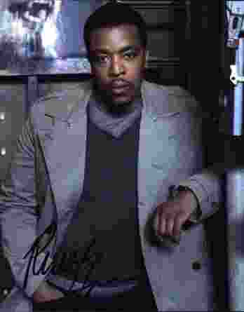 Russell Hornsby signed 8x10 poster