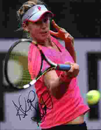 Tennis player Alexa Glatch signed 8x10 photo
