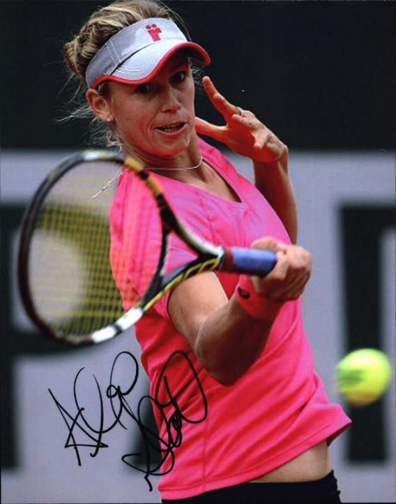 Tennis player Alexa Glatch signed 8x10 photo