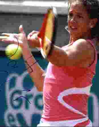 Tennis player Amy Schneider signed 8x10 photo