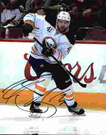 NHL Andrej Meszaros signed 8x10 photo