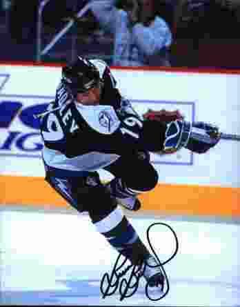 NHL Brian Bradley signed 8x10 photo