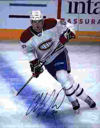 NHL Colby Armstrong signed 8x10 photo