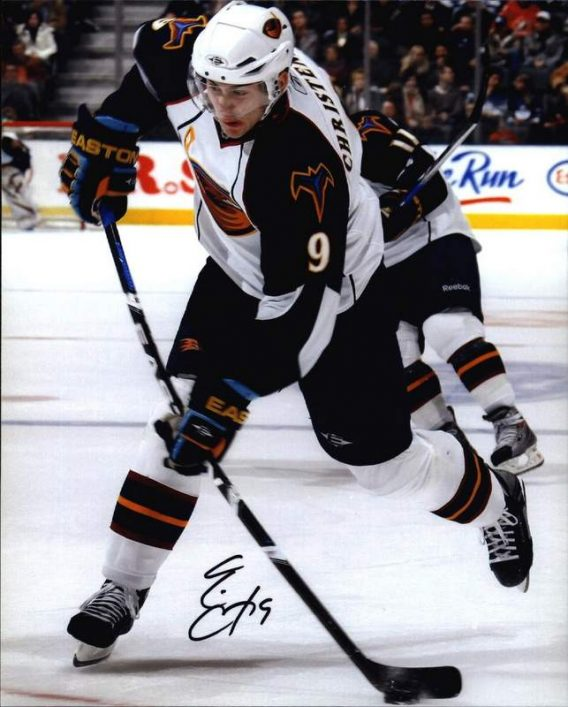 NHL Evgeny Artyukhin signed 8x10 photo