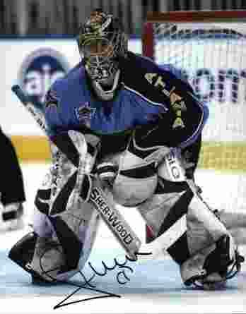 NHL Johan Hedberg signed 8x10 photo