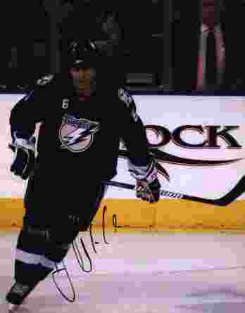 NHL Josef Melichar signed 8x10 photo
