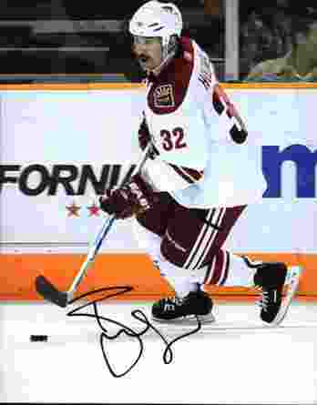 NHL Ryan Hollweg signed 8x10 photo