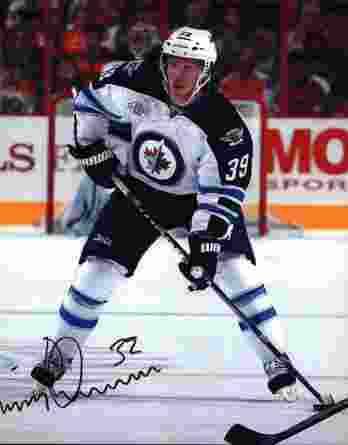 NHL Tobias Enstrom signed 8x10 photo