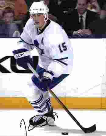 NHL Tomas Kaberle signed 8x10 photo
