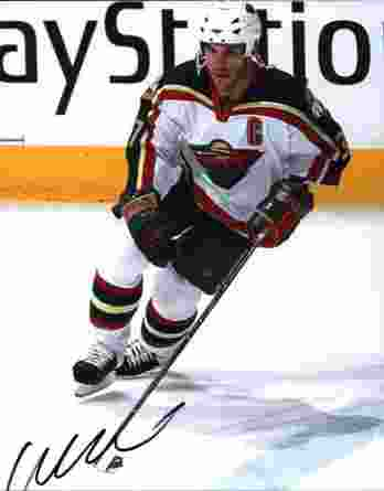 NHL Wes Walz signed 8x10 photo