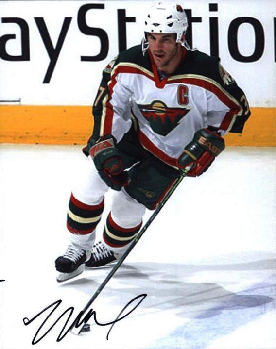 NHL Wes Walz signed 8x10 photo