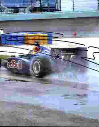 IndyCar series racing Alex Barron signed 8x10 photo