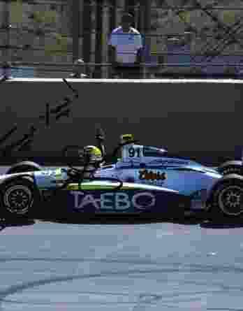 IndyCar series racing Buddy Lazier signed 8x10 photo